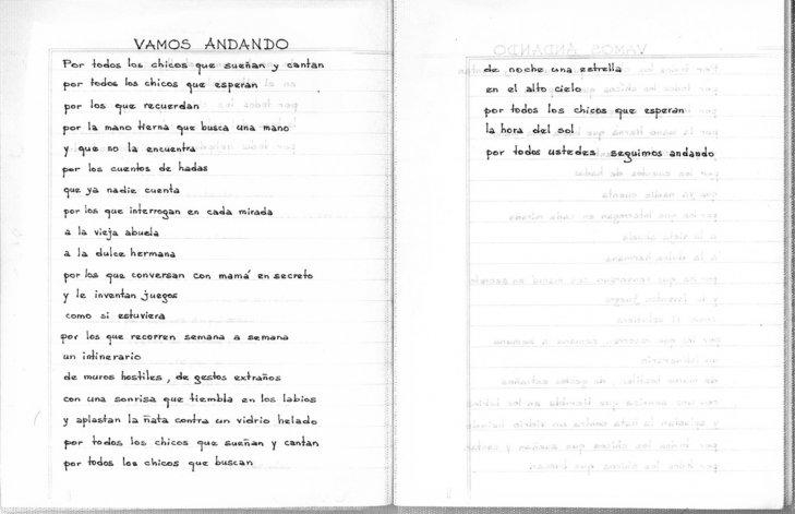 Con los poemas de 18 detenidos en la dictadura reconstruyen la memoria en Chubut