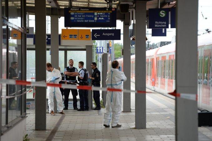 Al grito de Alá es grande, un hombre atacó con un cuchillo a cuatro personas en Alemania
