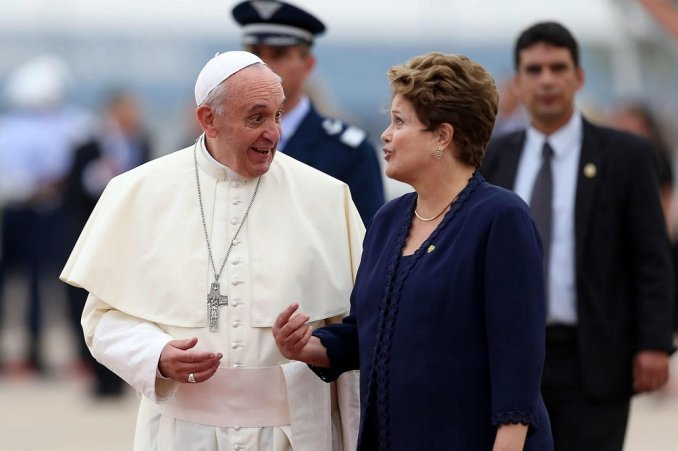 Mensaje del Papa para Brasil: Procedan por el camino de la paz