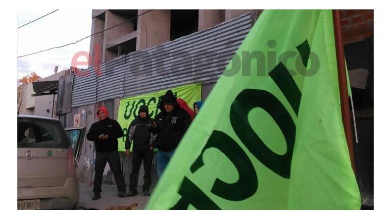 UOCRA hace piquetes en cuatro empresas de Comodoro