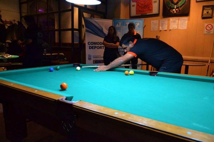 El Argentino de Pool se juega en Comodoro