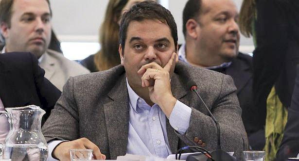 El ministro Triaca expuso ayer en Diputados.