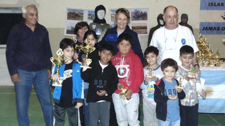 El certamen contó con una buena concurrencia de trebejos de los talleres municipales y clubes de la ciudad