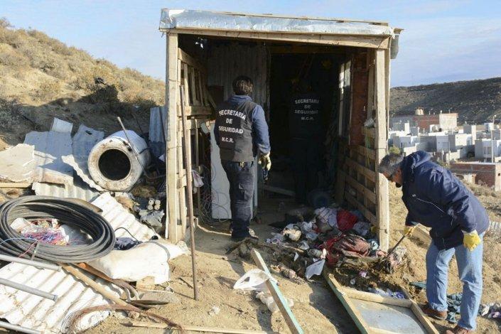 El operativo se realizó en la zona de extensión del barrio Stella Maris.