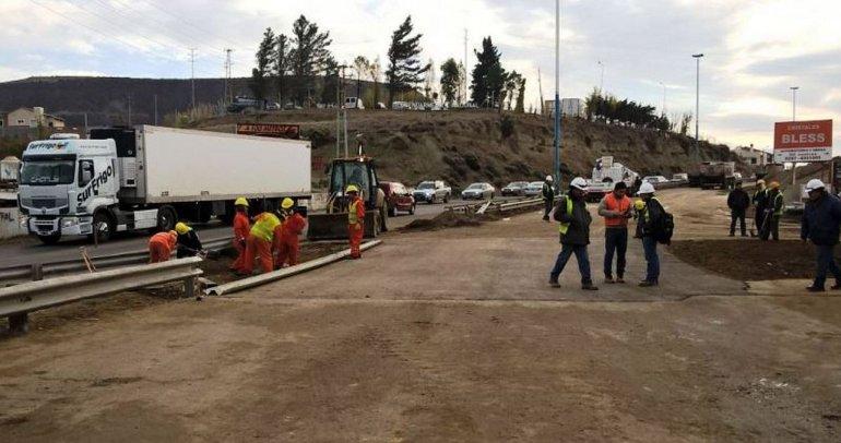 Hoy quedará normalizado el tránsito en la Avenida Quintana