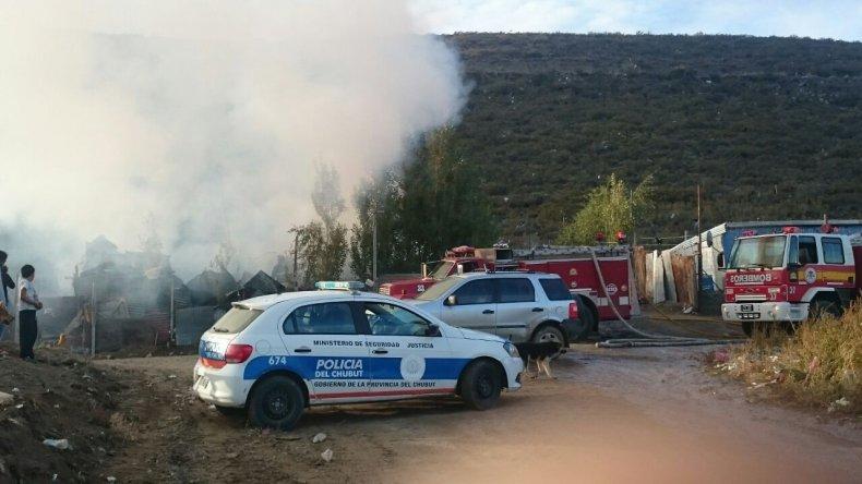 Se incendió una vivienda en el Máximo Abásolo