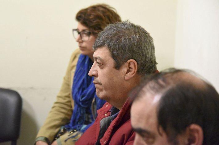 Luis Moreno en la audiencia judicial de ayer. Se trata de un alto funcionario municipal que
