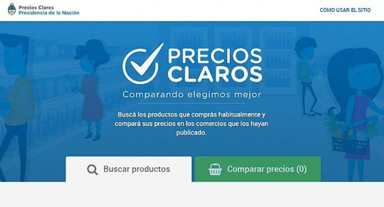 Precios Claros ya está disponible con más de 23.000 productos en su base de datos.