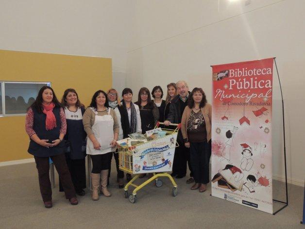 El programa Desafío Leer 2016 fue lanzado ayer las instalaciones del Centro de Información Pública.