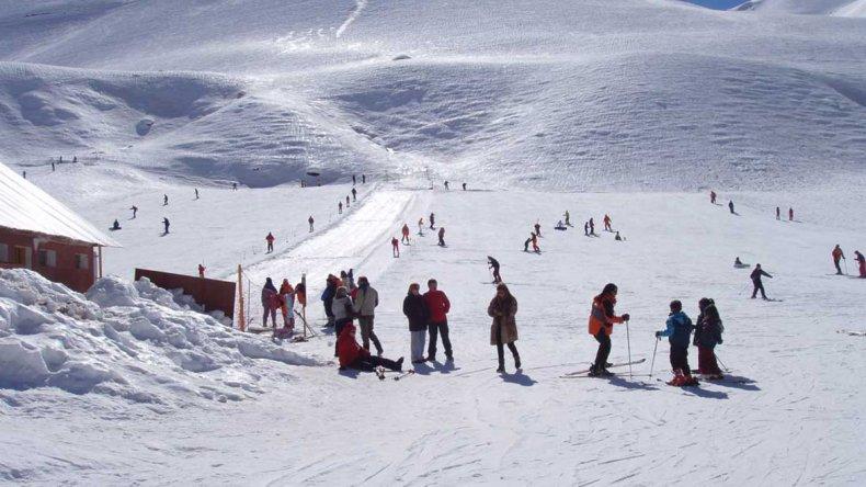 El complejo invernal Penitentes posee en la actualidad más de 300 hectáreas de superficie esquiable.