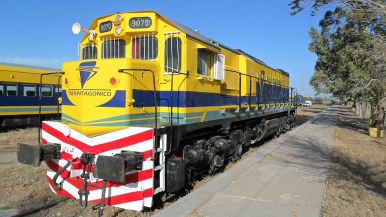 El tren une a las localidades de Viedma (Capital provincial) con San Carlos de Bariloche