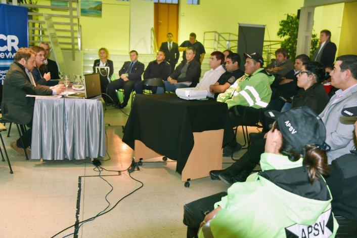 El encuentro en las Agencias de Seguridad Vial se llevó a cabo en el Ceptur.