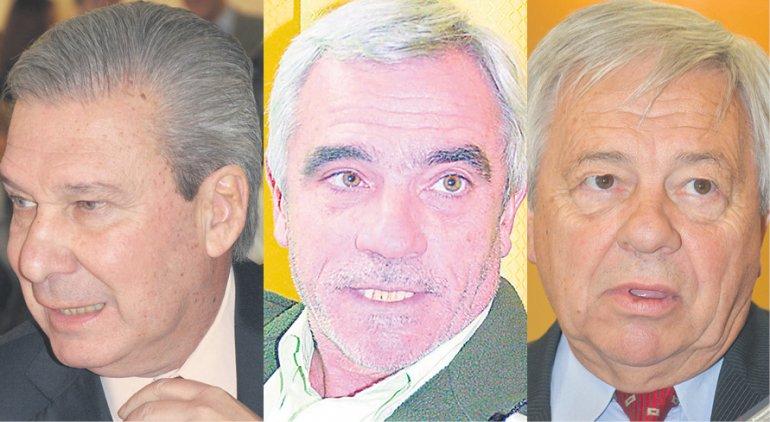 Marcelo Guinle -Mario Vivas -Miguel Donnet.