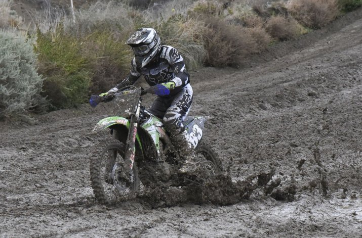 Cristian Enrique terminó segundo en la MX2