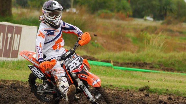 Tomás Brazao tuvo un fin de semana positivo y finalizó tercero en Bragado.