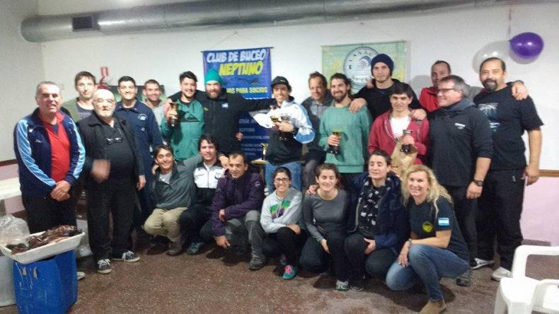 La comunidad del mar a pleno en la sede del Club Neptuno donde cerró el Nacional de Pesca Submarina 2016 y se definió la Selección Argentina.
