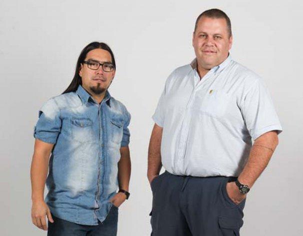 Carlos Alvarez y Christian Del Bel