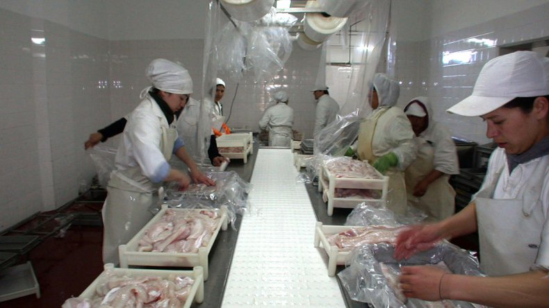 Provincia anunció una inversión en Alpesca por 50 millones de pesos. Ello contribuiría a conservar las fuentes laborales.
