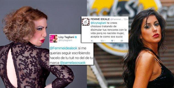 Fuerte pelea entre Pamela Sosa a Lizy Tagliani
