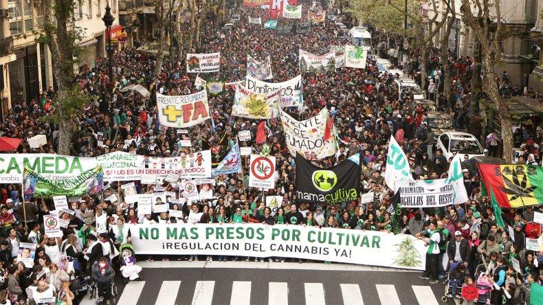 Marcha realizada el pasado 7 de mayo en Buenos Aires.
