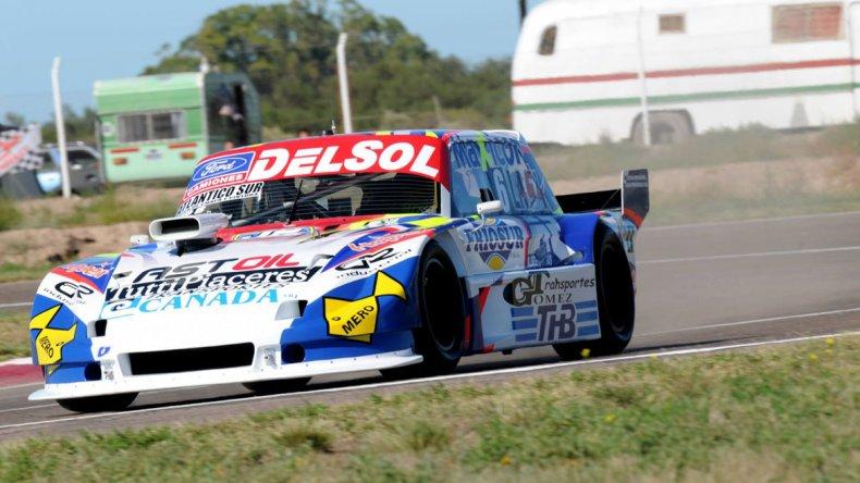 El Ford de Marcelo Agrelo que se ubica en el décimo puesto del TC Pista.