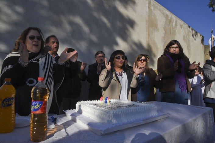 Los festejos por el 90° aniversario de la Escuela Provincial 91 se realizaron ayer con la participación de las autoridades municipales.
