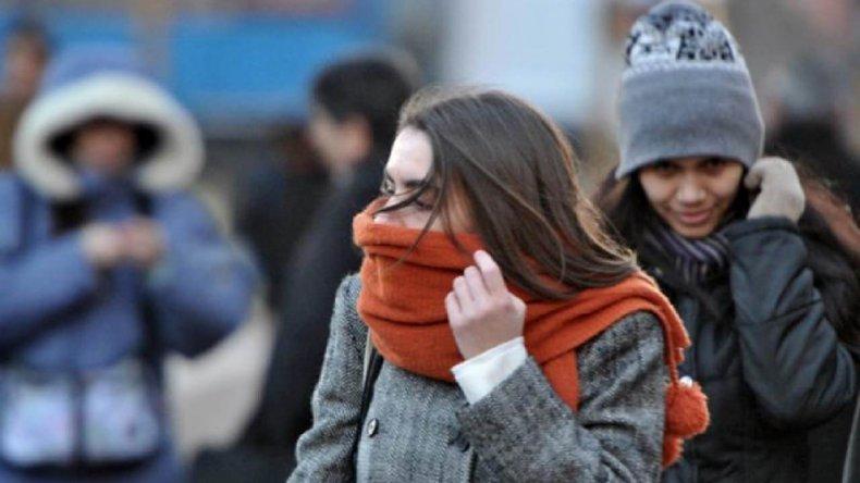 El frío continuará durante los próximos días con máximas que no superarían los 11 grados