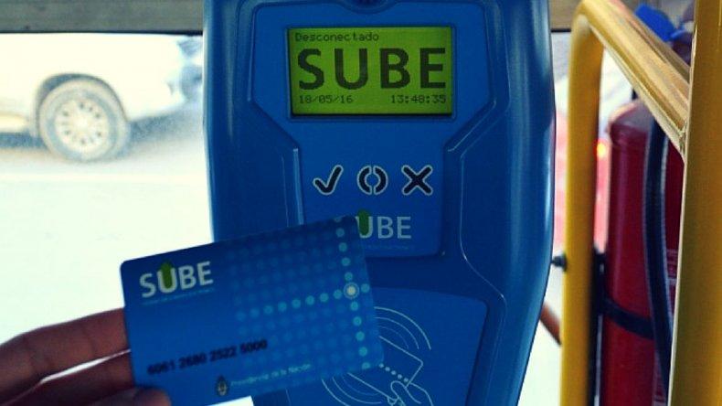 La tarjeta SUBE se encuentra en fase de pruebas