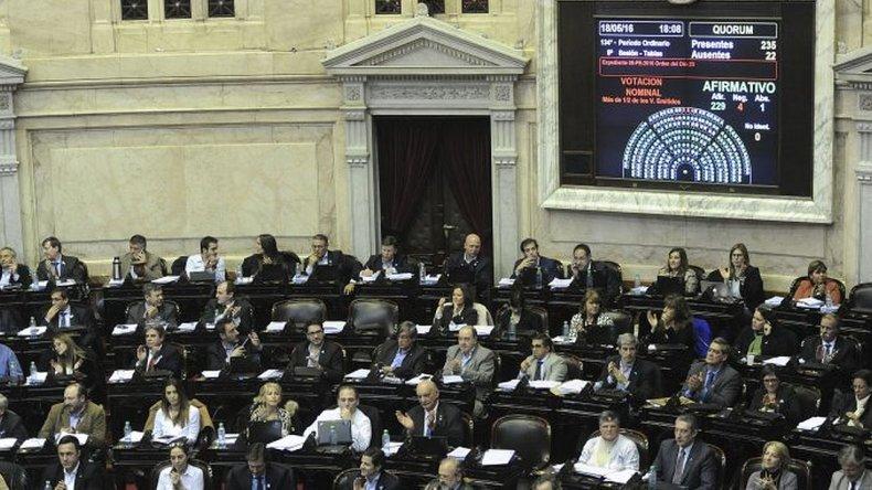 Diputados aprobó la Ley Antidespidos