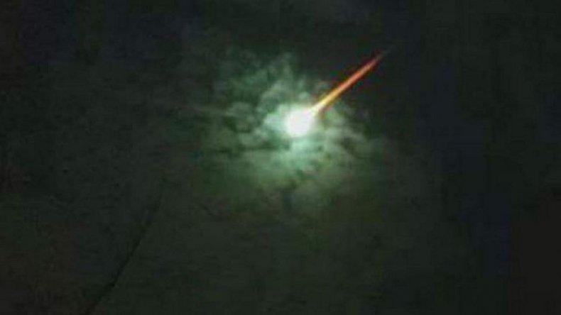 Misterio y susto por una explosión: creen que cayó un meteorito