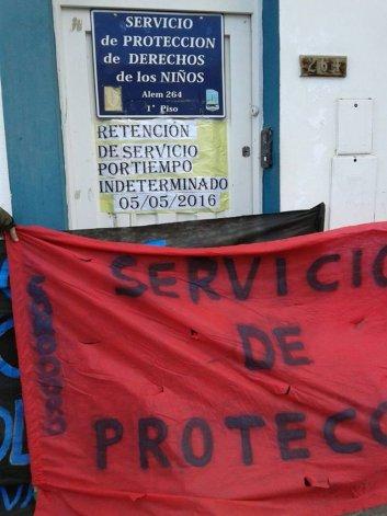 Trabajadores Ministerio Familia Comodoro Rivadavia