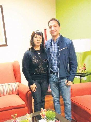 Nicolás Caridi se reunió en San Miguel de Tucumán con Susana Trimarco.