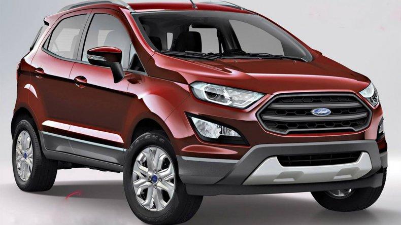 La Ford EcoSport cambia por fuera y por dentro
