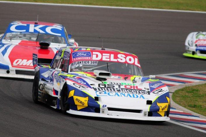 Marcelo Agrelo comenzó con todo al ubicarse segundo en una de las series del TC Pista.