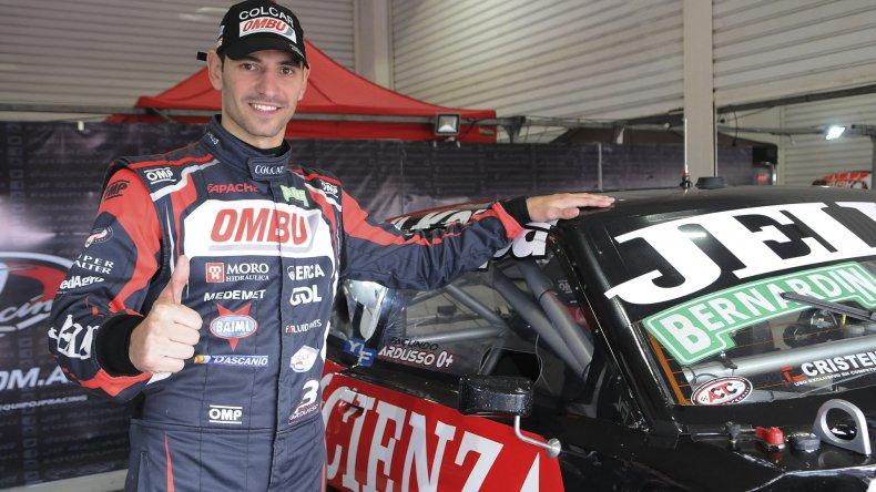 Facundo Ardusso que ayer dominó en la primera clasificación del Turismo Carretera en el autódromo de Termas.