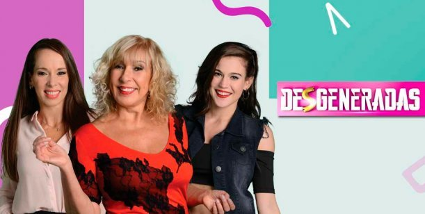 Termina el programa de Georgina Barbarossa en canal 9, Desgeneradas