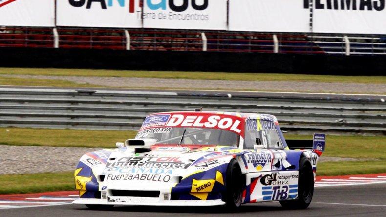 Marcelo Agrelo fue cuarto en la primera final y dueño de la serie más rápida para la carrera de hoy.
