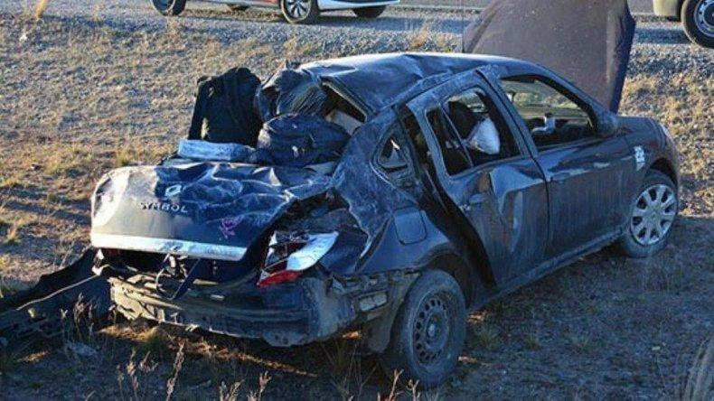 Murió pastor evangélico al volcar auto en cercanías de Tres Cerros