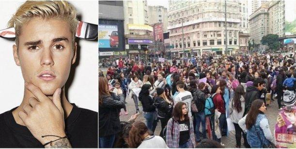 #MarchaBelieber: fans pidieron a Justicia que Justin Bieber pueda regresar al país