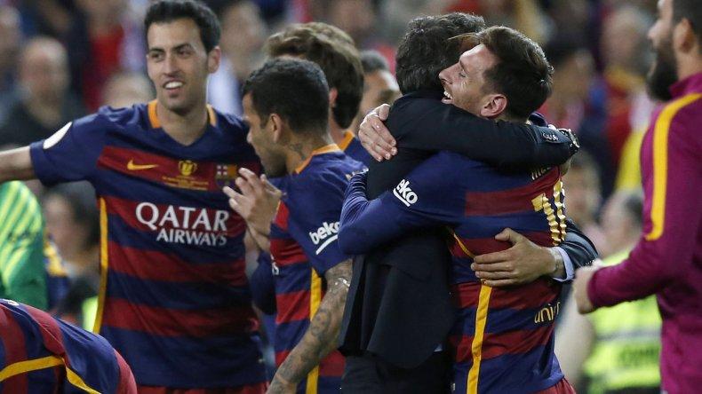 El Barcelona de Leo Messi y Javier Mascherano volvió a conquistar ayer un nuevo título.