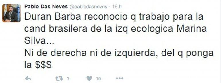 El vicepresidente del Banco Chubut