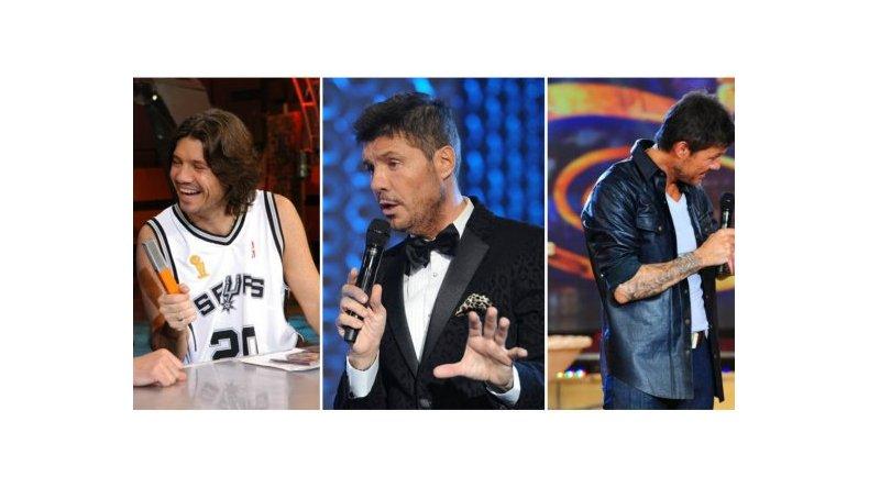 Marcelo Tinelli, según pasan los años: sus cambios de look a lo largo del Bailando