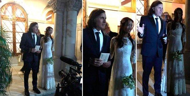 Vilas se casó con su mujer tailandesa de 32 años