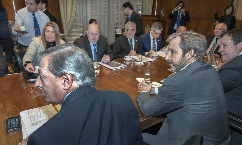 Das Neves: hubo una propuesta de parte del Ejecutivo que dejamos en stand by