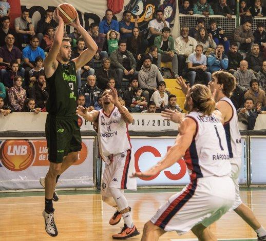 Federico Aguerre marcó 715 puntos en lo que fue su segunda temporada en el Verde.