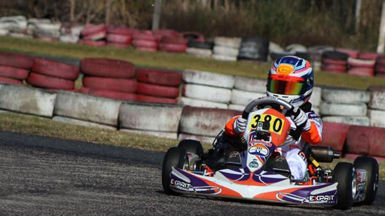 Ignacio Montenegro estuvo cerca de la primera victoria en la Promocional.