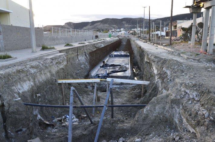 El fideicomiso permitió avanzar en obras públicas como pavimentación y pluviales.
