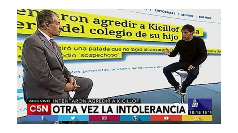 Otra vez la intolerancia: Kicillof contó cómo fue la agresión que sufrió en el colegio de su hijo