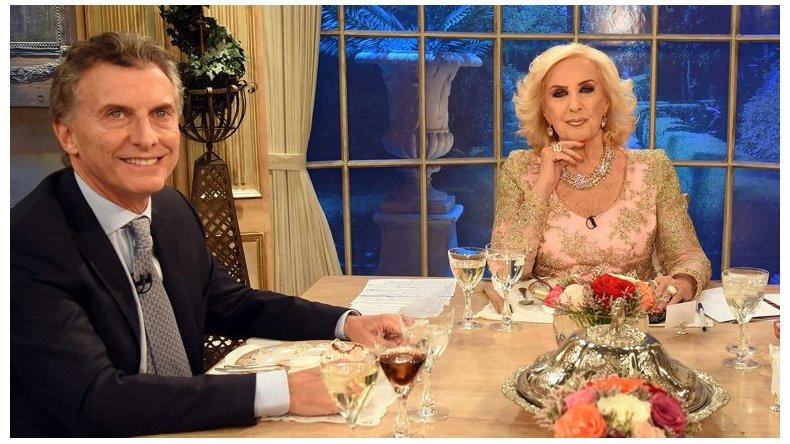 Macri almorzará con Mirtha Legrand en  Casa Rosada