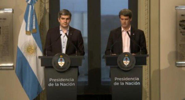 Peña y Prat Gay expresaron su optimismo con respecto a la economía.